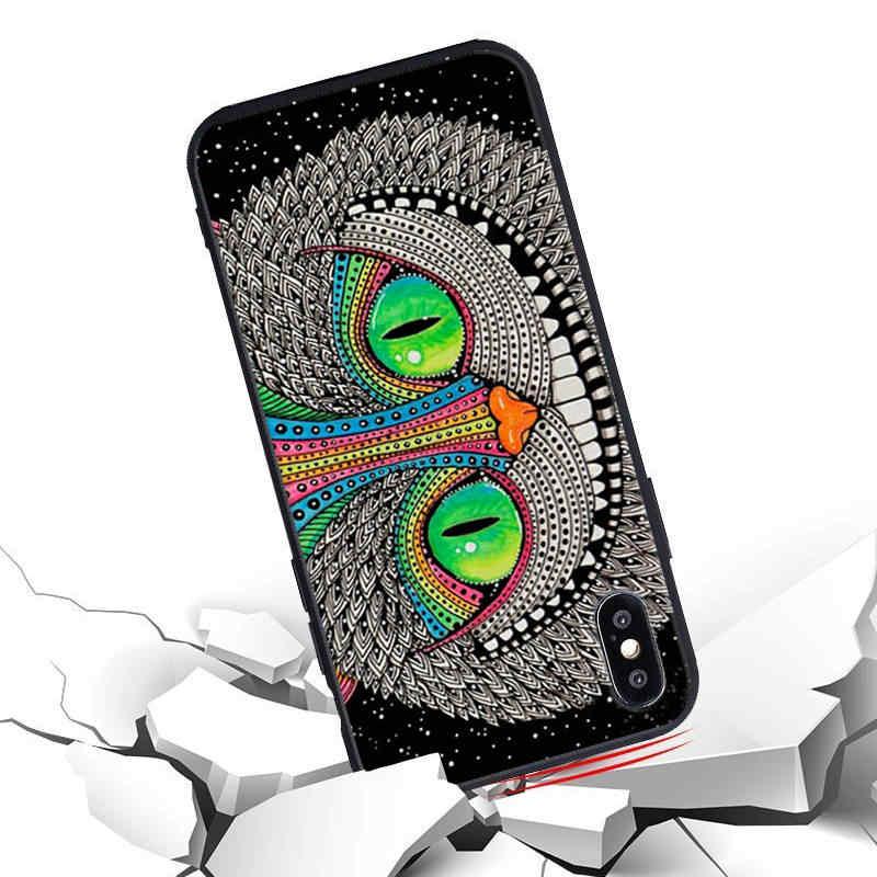 Cheshire Cat Caso para iPhone Caso Lilo Ponto Ohana 6s Tampa Do Telefone de Silicone Macio para o iphone X 6 8 5 5S SE 7 Mais Fundas Coque