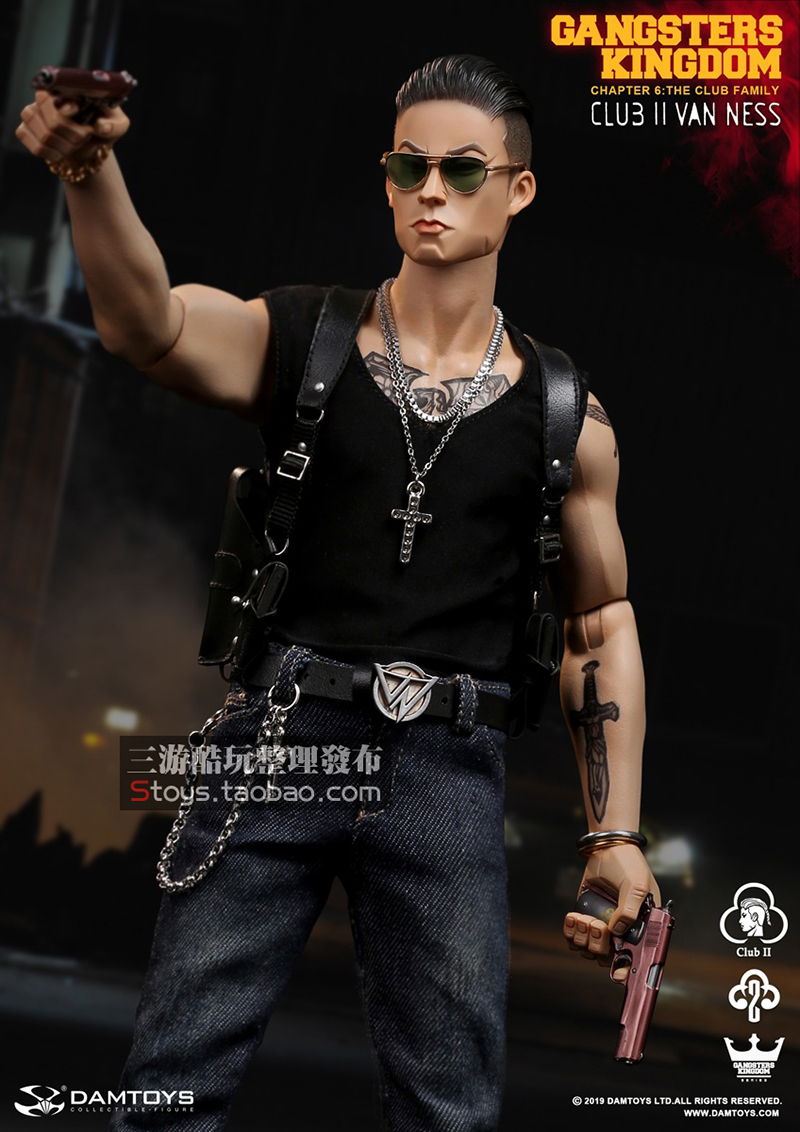 in stock full set <font><b>Gangsters</b></font> <font><b>Kingdom</b></font> Club 2 Van Ness(GK017) Wu Jianhao Van Ness Action Figure Colletible Toys image