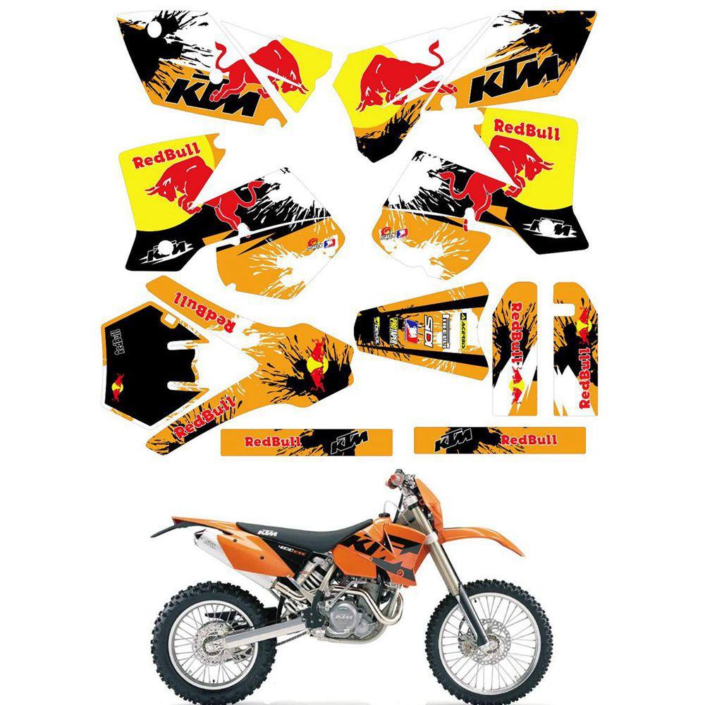 HUSABERG adesivi decoro-full decal KIT FC FE FS FX te 125 250 350 390 450 570
