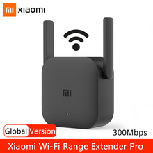 Xiaomi WiFi Repeater Signal Amplifier Pro 300Mbps 2.4G Wi-Fi Range Extender Network Expander Mi Wireless Router Wifi Booster