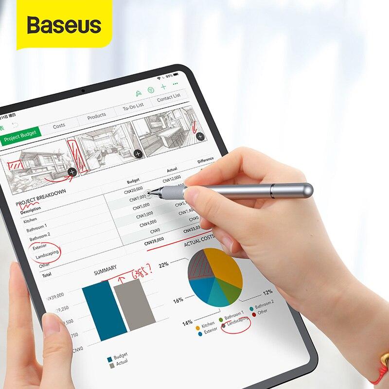 698.13руб. 20% СКИДКА|Универсальный стилус Baseus, многофункциональная сенсорная ручка для экрана, емкостная сенсорная ручка для iPad iPhone, Samsung, Xiaomi, Huawei, ручка для планшета|Стилусы для планшетов| |  - AliExpress