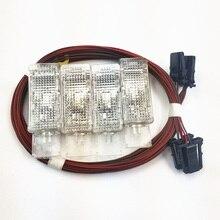 READXT автомобильный интерьерный светильник для ног с проводом жгута кабеля для Passat B6 Golf 6 MK6 Jetta 5 MK5 MK6 Tiguan 1KD947415 7L0947415