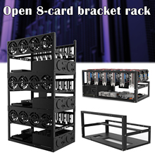 Rack Motherboard-Bracket Ether-Accessory-Tools Rig Frame Mining-Case 6-Gpu for 52x28x4.5cm