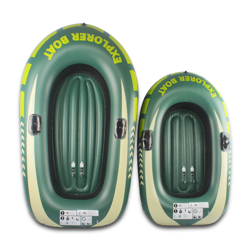 Kids Adult Inflatable Boat Swimming Pool Toys Water Fun Beach Thicken Water Rafting Boat Toys