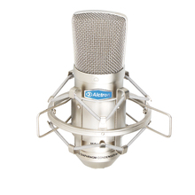 Top Quality Free shipping Alctron MC001 condenser microphone pro recording studio microphone recording microphone cheap Handheld Microphone Karaoke Microphone Single Microphone Cardioid Wired