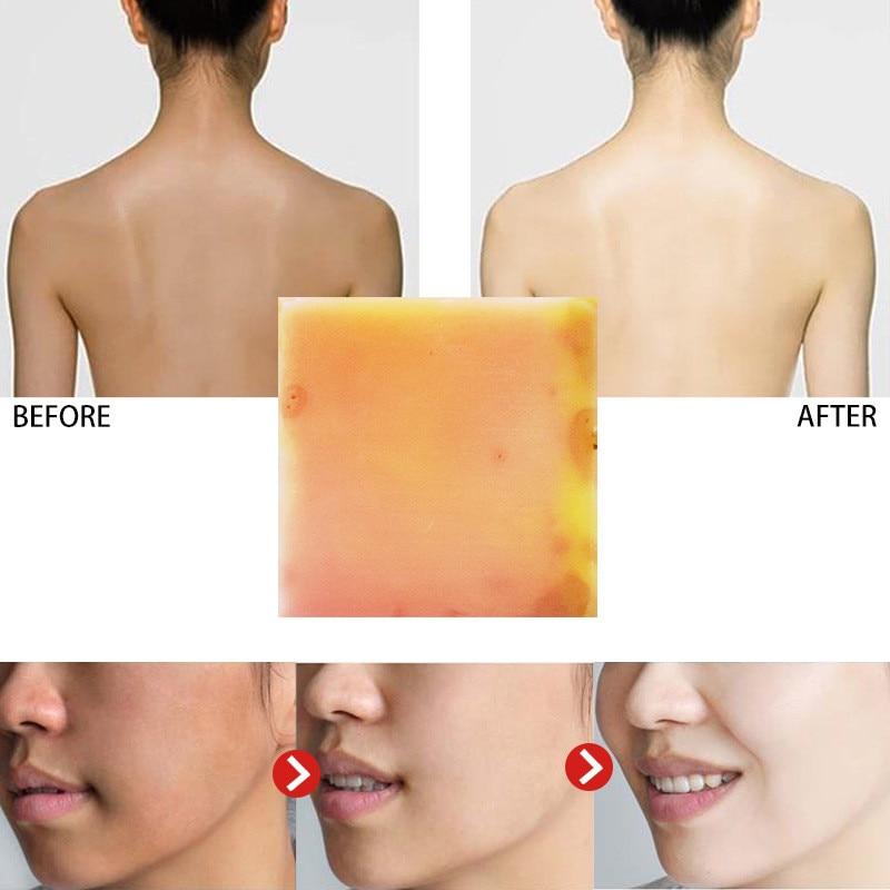 Papaya Rose Handmade Essential Oil Soap Botanical Soap Facial Soap Bath Skin Lightening Care Intimate Private Crystal Body Face