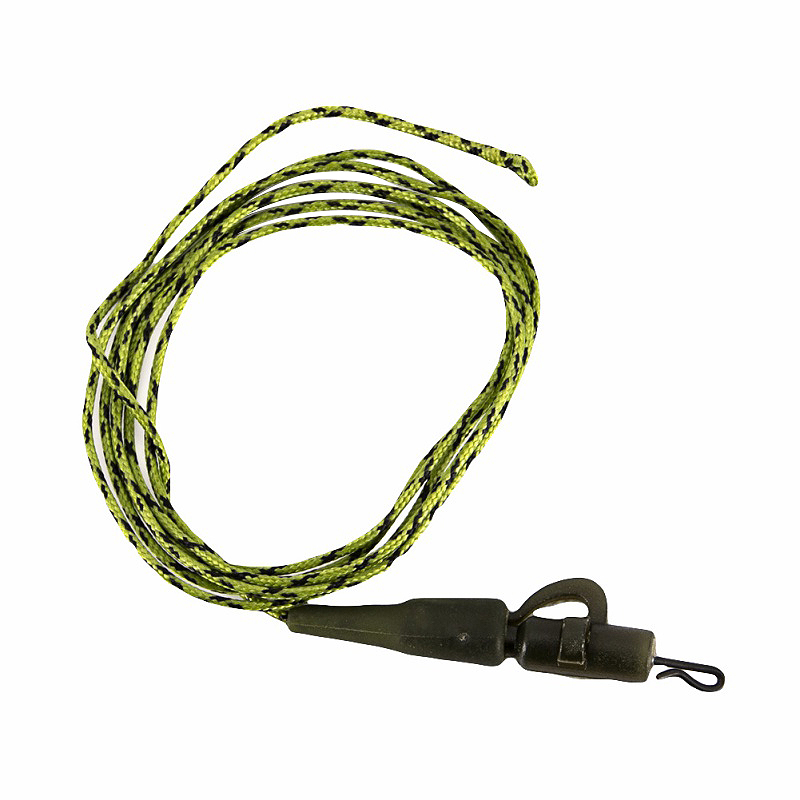 1pcs 91cm Carp Fishing Line Ready Tied Lead Core Leaders 45ib Leadcore With Quick Change Swivel Pe Braided Line With Lead Camo G
