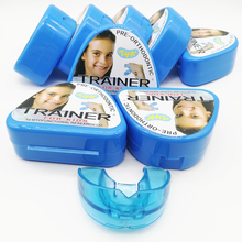 1pc T4K Children Dental Tooth Orthodontic Appliance Trainer Kids Alignment Braces Mouthpieces for Teeth Straight Tooth Whitening 1pc dental orthodontic study model transparent teeth malocclusion orthodontic model with colorful brackets