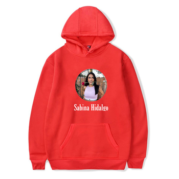 WAWNI Sabina Hidalgo Cotton Plus Polyester Hooded Sweatshirt Unisex Fashion Print Streetwear High Quality Hoodie 2020 Breathable image