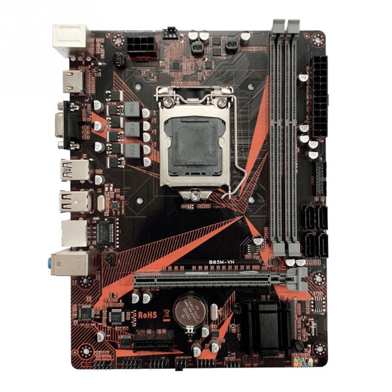 B85M-VH HDMI USB 3.0 accessoires double canal PCI-e carte mère ordinateur haute vitesse bureau LGA 1150 16G DDR3 SATA3.0 bureau