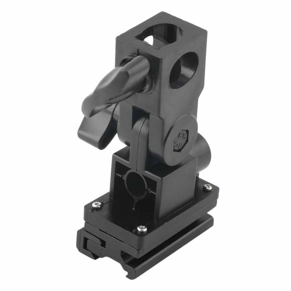 FU-SOB Универсальный B Тип многофункциональный держатель светодиодный вспышка светильник зонт держатель Поворотный Светильник Подставка Кронштейн для Камера
