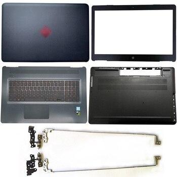 For HP Omen 17-W 17T-W 17-W120TX TPN-Q174 Laptop LCD Back Cover/Front Bezel/Hinges/Palmrest/Bottom Case 862973-001 862972-291 for hp omen 17 17t an000 17 an012dx 17 an030ca 929522 601 929522 001 dag3bcmbcg0 rx580 8gb i7 7700hq laptop motherboard tested