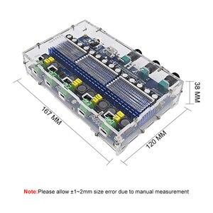 Image 4 - TPA3116D2 carte Audio amplificateur Bluetooth 2x50W + 2x100W amplificateur de caisson de basses amplificateur de puissance numérique 4 canaux