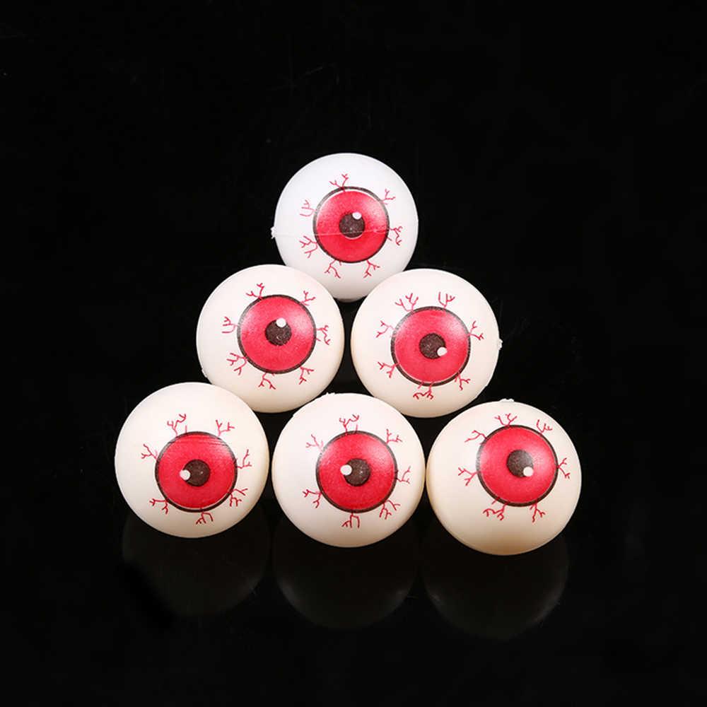 New 30pcs 4CM False Eyes Realistic Bloodshot Eyeball DIY Horror Halloween Prop Decoration