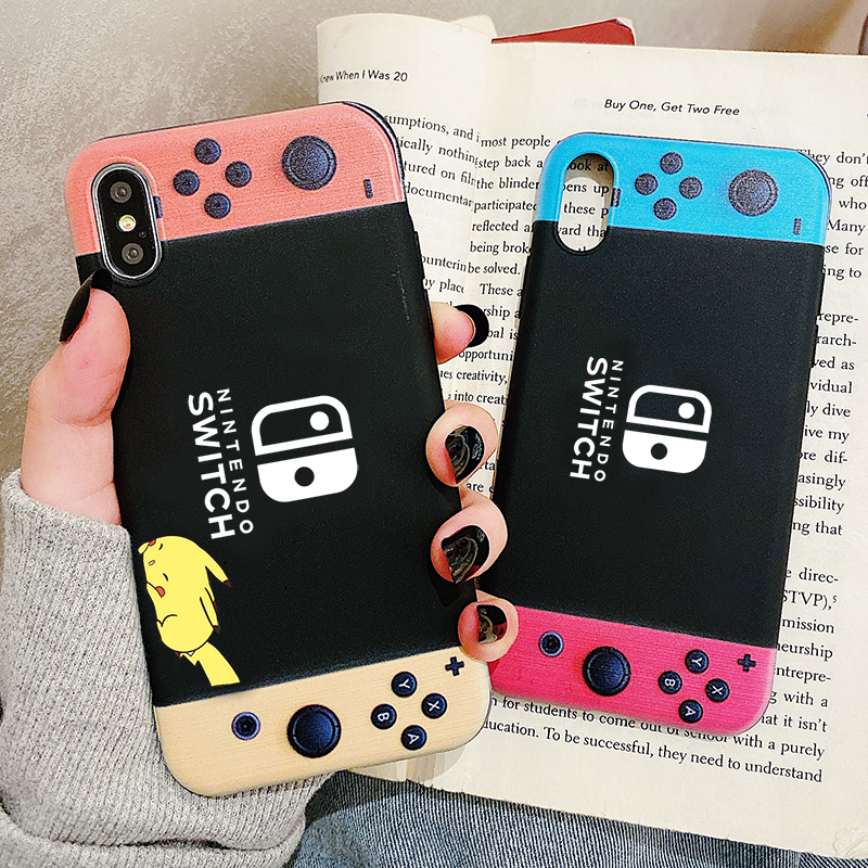 Phone Case For Samsung <font><b>Galaxy</b></font> <font><b>S10</b></font> S9 S8 S7 S6 Plus Lite edge S10e SWITCH Game Console Frosted Silicone Cases Soft Cover image