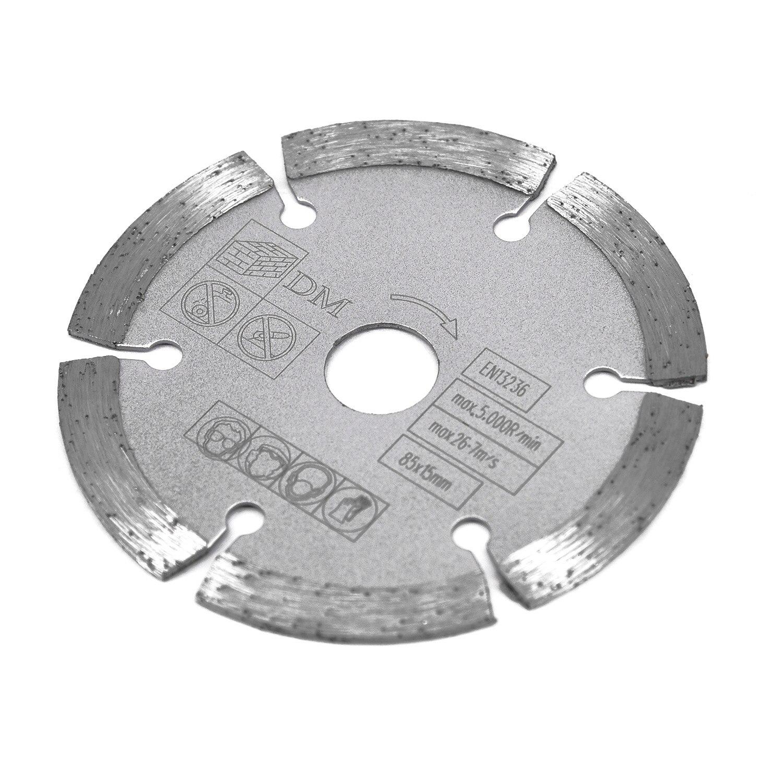 85mm 15mm Bore Diamond Segmented Circular Saw Blade For Makita Worx Wx423 Wx426