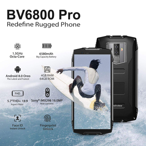 """Image 2 - Blackview BV6800 Pro 4GB+64GB 5.7"""" Waterproof Smartphone 18:9 Screen 6580mAh Android 8.0 Wireless Charging Mobile Phone"""