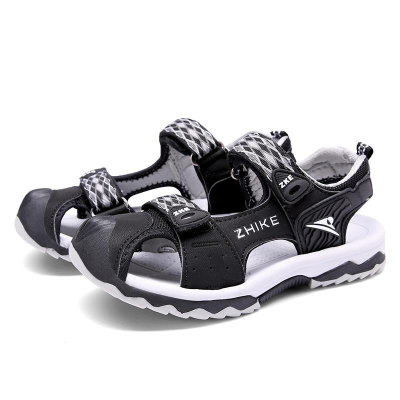 2020 New  Sport Beach Sandals Cutout Summer Kids Shoes Toddler Sandals Closed Toe Girls Sandals Children Shoes