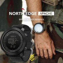 North Edge Smart Watch Men Sport Hiking Altimeter Speedometer Smartwatch 2020 Barometer Compass Fitness Tracker Digital Wearable(China)