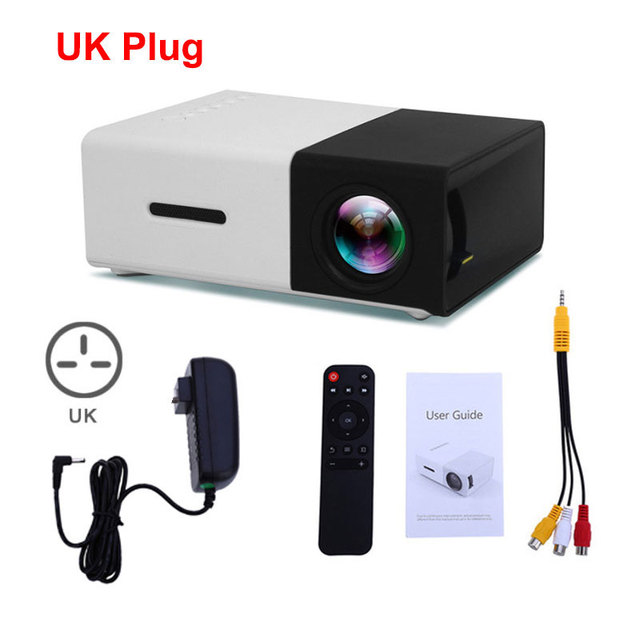 Black UK Plug