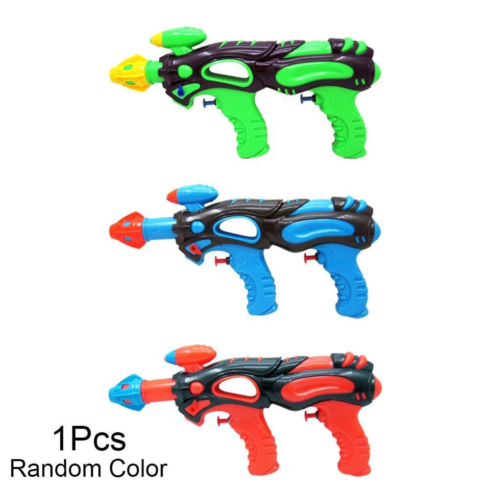 Funny Kids Outdoor Beach Summer Long Range Double Nozzle Water Gun Pistol Toys Water Gun Toy For Children Gifts