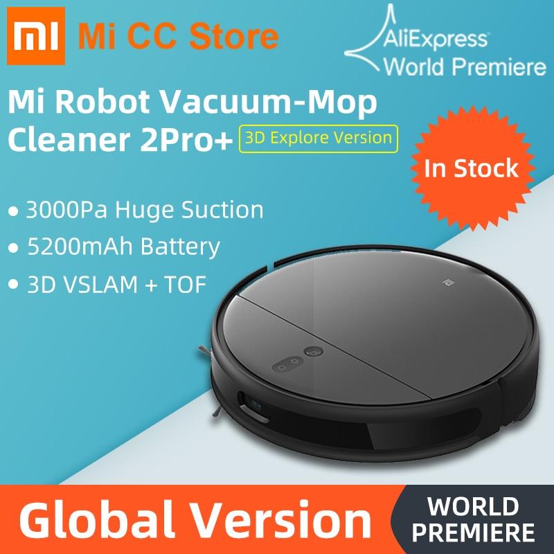 Robot sprzątający Xiaomi Robot Vacuum-Mop 2 Pro + z Polski za $399.00 / ~1476zł