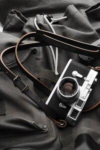 Image 5 - Mr.石ハンドメイド本革カメラストラップカメラショルダー (ヴィンテージ才)