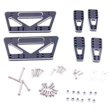 Metal Chassis Lift Plate Set Kit for 1/10 RC Axial SCX10 Model Car Parts gpm racing axial scx10 ii ax90046 aluminium chassis lift up combo