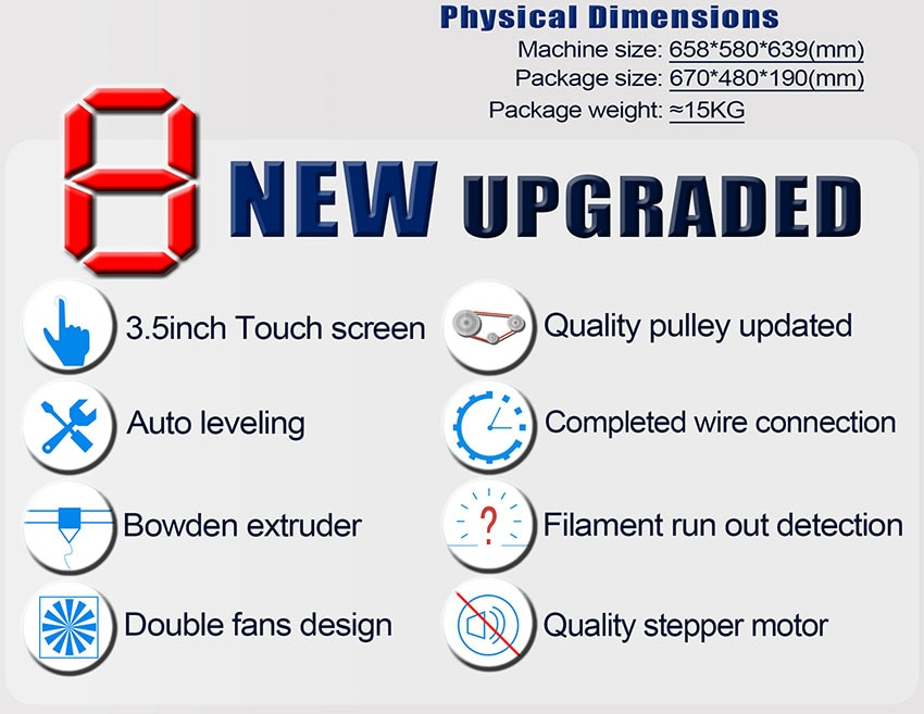 TRONXY X5SA 3D Printer Kit With Auto Levelling And Filament Sensor (X5SA) 4