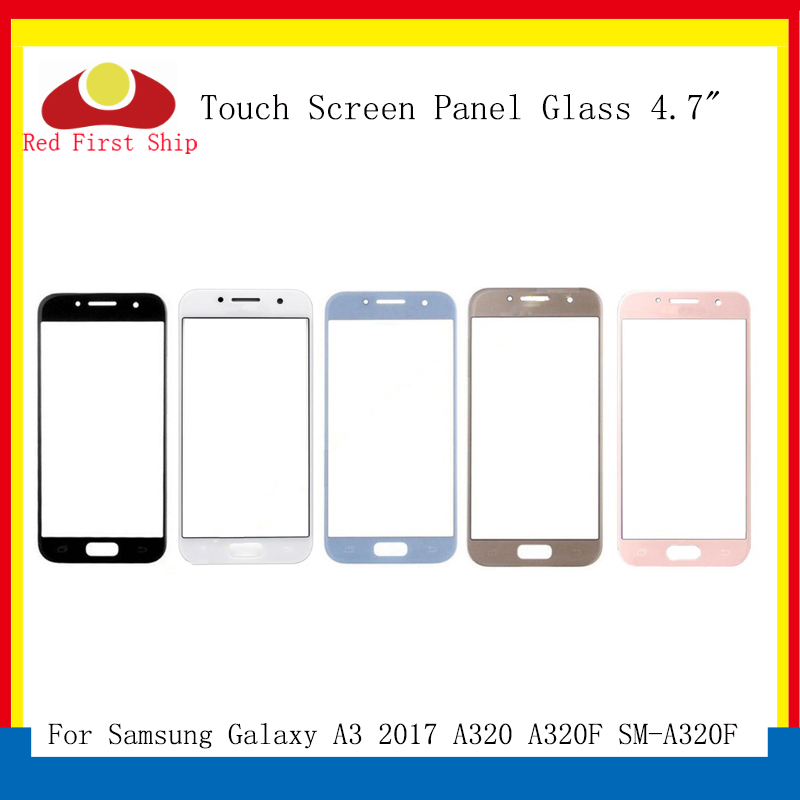 10Pcs lot Touch Screen For Samsung Galaxy A3 2017 A320 A320F Touch Panel Front Outer Glass Lens A3 2017 Touchscreen LCD Glass in Mobile Phone Touch Panel from Cellphones Telecommunications