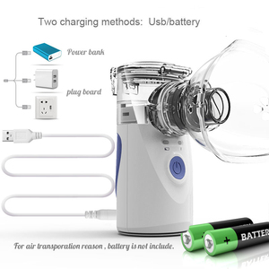 Image 3 - Health Care Mini Handheld portable Inhale Nebulizer silent Ultrasonic inalador nebulizador Children Adult Rechargeable Automizer