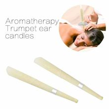 10PCS Ear Wax Cleaner Removal Coning Fragrance Candles Healthy Hollow Sets New