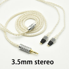 3.5mm 2.5mm XLR 4.4mm Silver Plated OCC Earphone Cable upgrade For Sennheiser HD580 HD600 HD650 HD25 hd545 hd565 hd535 HD660S