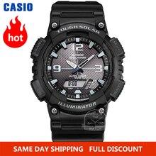 Casio Watch часы мужские модные кварцевые наручные часы со солнечной батареей и светодиодной подсветкой водонепроницаемые спортивные цифровые ...