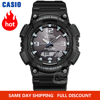 цена на Casio Watch men top luxury set g shock Waterproof Sport quartz Watch LED digital Military men watch Solar wrist watch relogio
