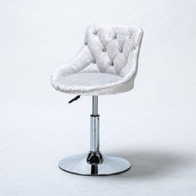 Final Stock Cheapest Bar Stool Modern Minimalist Bar Chair Lift Rotating Backrest Chair Home High Stool Bar Nails Stool