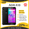 AGM A10 5,7 ''HD + IP68 водонепроницаемый прочный телефон 4/6 ГБ 64/128 ГБ 4400 мАч 4G LTE Android 9 Водонепроницаемый NFC мобильный телефон