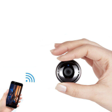 Wireless camera home mobile phone WiFi network remote micro HD night vision panoramic intelligent monitor