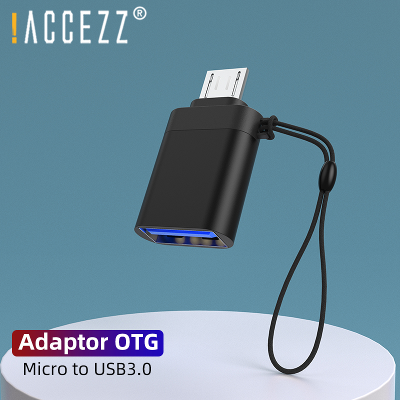 !ACCEZZ OTG Adapter Micro USB Male To USB3.0 Connector For Samsung S6 Xiaomi 4 Android Data Sync Tablet To Flash Drive Mouse OTG