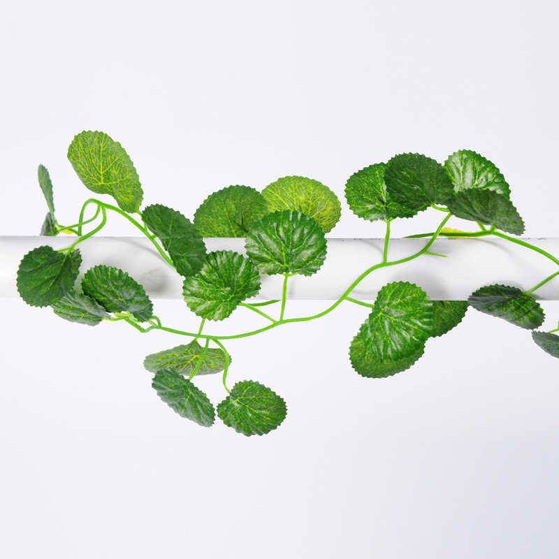 2M طويل محاكاة النباتات الأخضر ورقة اللبلاب/التوت وهمية العنب كرمة زهرة اصطناعية سلسلة أوراق الشجر يترك الرئيسية زفاف حديقة الديكور