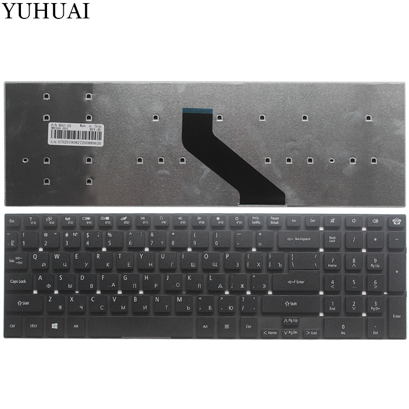 Russian Keyboard For Packard Bell Easynote TV43HC TV43HR TV44HC TV44HR TV43CM TV44CM TSX62HR TV11CM TV11HC Q5WS1 VN70 RU