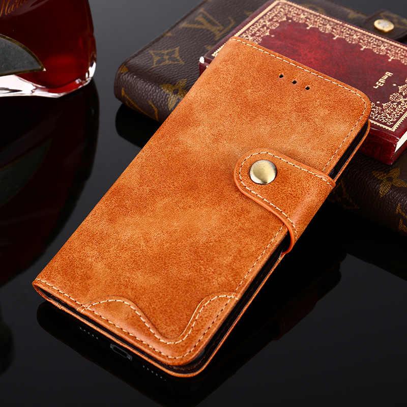 Mewah Ponsel Flip Case untuk Xiaomi Mi 9 PRO Redmi Note7 Note 8 Pro 8T 2 3 Redmi 4 4A 4X 5 6 6A 7A Kulit Magnet Soft Phone Case