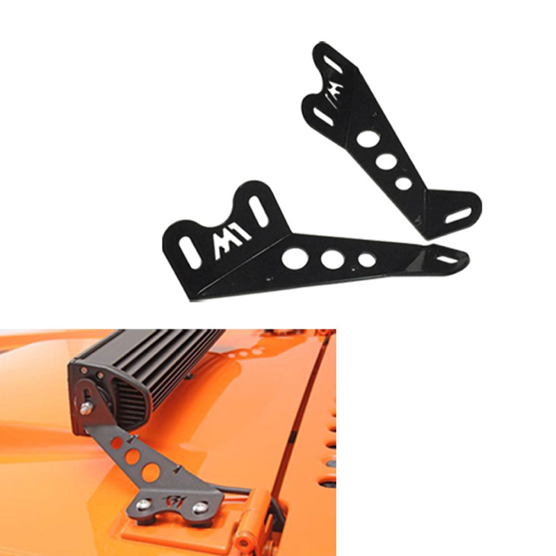 The Vectra Jeep Wrangler Off-road Vehicles Hood Stents Cars With Led Lights Dedicated