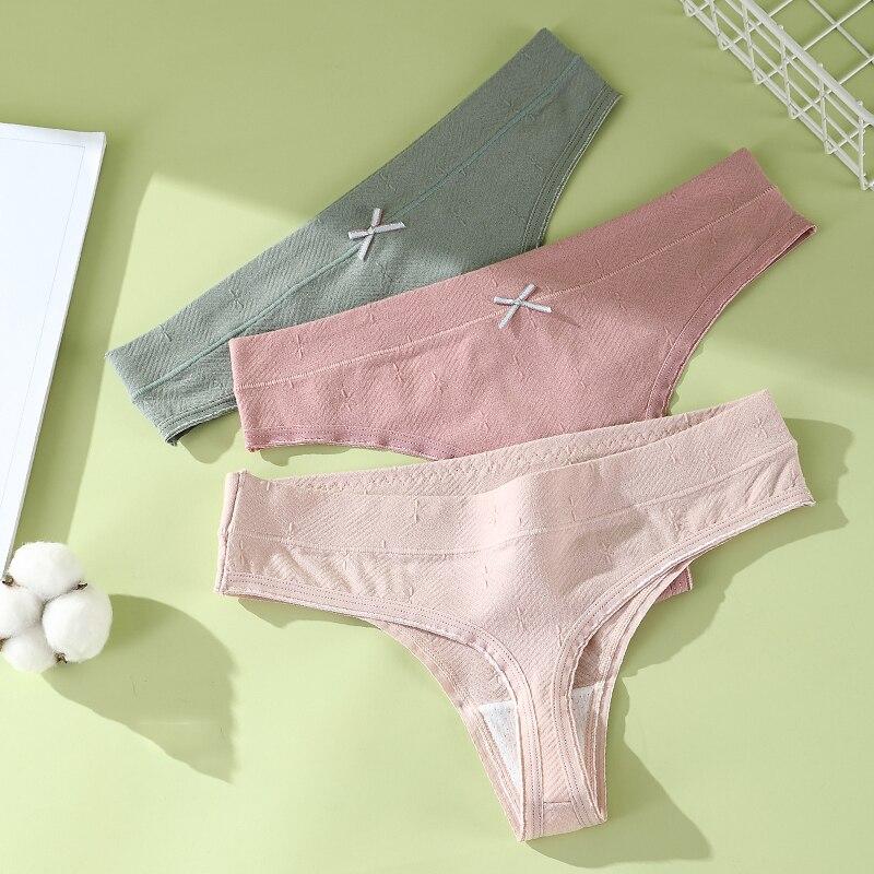 Kadın pamuk G-String tanga seksi külot kadın t-geri rahat iç çamaşırı kadın iç çamaşırı bayanlar t-geri thongs