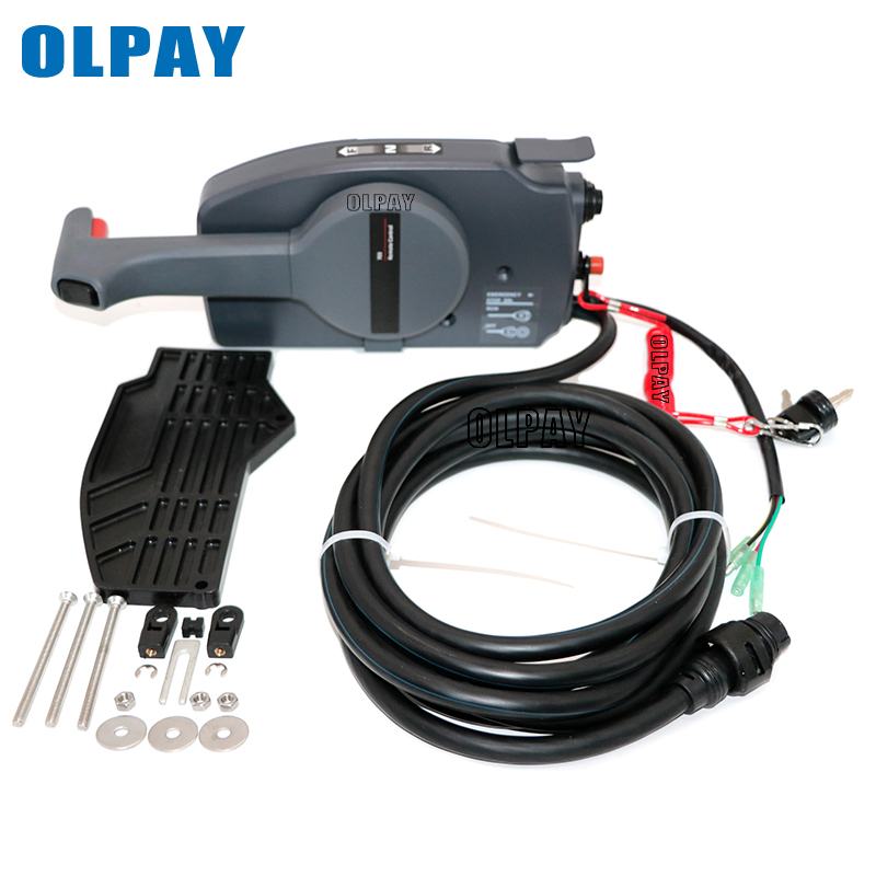 703-48272-12-00 Remote Control Box Assy For YMH Boat Engine,10 Pins Pull To Open
