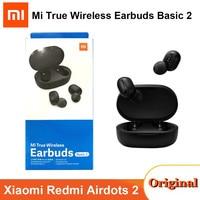 Nuevo Xiaomi Air2 SE TWS Original inalámbrico Bluetooth 5,0 auriculares Airdots 2 Redmi arroz AirDots 2 Mi inalámbrica auriculares básico 2