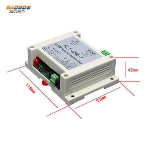 Image 5 - نظام حماية GSM لاسلكي التحكم عن بعد التتابع التبديل تحكم في الوصول مع 10A التتابع الناتج NTC استشعار درجة الحرارة