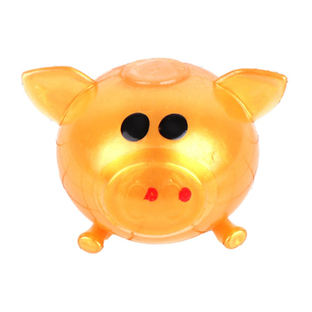 Anti Stress Goods Various Types Pig Toys Decompression Splat Ball Vent Toy Venting Ball Sticky Smash Water Ball