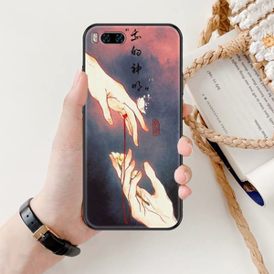 Image 5 - حافظة هاتف صينية من Tian Guan Ci Fu لهواتف شاومي Mi Max نوت 3 A2 A3 8 9 9T 10 Lite Pro حافظة سوداء فائقة فاخرة من مادة البولي يوريثان من السيليكون