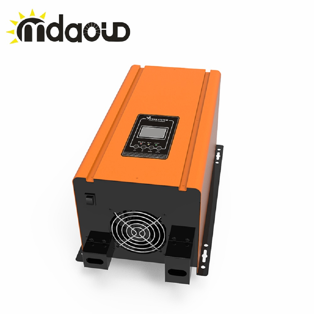SOLAR <font><b>INVERTER</b></font> 3000w (<font><b>6000w</b></font> 9000w peaking) DC 12V <font><b>24V</b></font> 48V to AC110V/120V/220V/230V converter bulid-in battery charger image